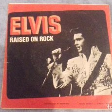 Discos de vinilo: ELVIS RAISED ON ROCK. Lote 117067215