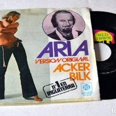 Discos de vinilo: SINGLE. . ACKER BILK .ARIA- THE FOOL ON THE HILL. AÑO 1977. Lote 117068363