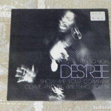 Discos de vinil: VENDO SINGLE DE DES´REE, AÑO 1991 (MAS INFORMACIÓN EN 2ª FOTO EN EL INTERIOR).. Lote 117101399