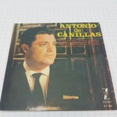 Discos de vinilo: ANTONIO DE CANILLAS. Lote 117104979