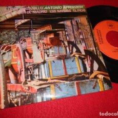 Discos de vinilo: ANTONIO APRUZZESE ULTIMO ORGANILLO MADRID/ROSA DE MADRID/+2 EP 7'' 1971 CBS EDICION ESPAÑOLA SPAIN. Lote 117106863
