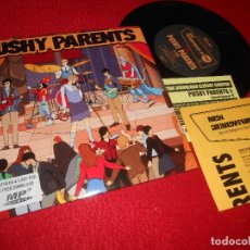 Discos de vinilo: PUSHY PARENTS SECRET SECRET/HOLD ME TIGHT OR LET ME GO/+2 EP 7'' 2011 ELEFANT EDICION ESPAÑOLA SPAIN. Lote 117108219