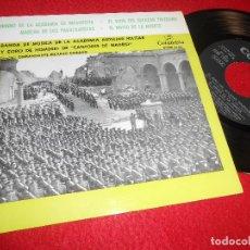 Discos de vinilo: ACADEMIA AUXILIAR MILITAR MADRID EL NOVIO DE LA MUERTE/+3 EP 7'' 1959 COLUMBIA ESPAÑA SPAIN. Lote 117109283