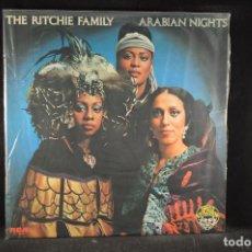 Discos de vinilo: THE RITCHIE FAMILY - ARABIAN NIGHTS - LP. Lote 117112635