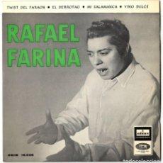 Discos de vinilo: RAFAEL FARINA - TWIST DEL FARAON + 3 - ODEON 1962. Lote 117112999