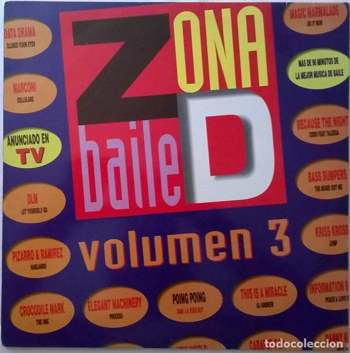 ZONA DE BAILE VOL. 3, GASA-6G0495 B (Música - Discos - LP Vinilo - Techno, Trance y House)
