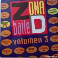 Disques de vinyle: ZONA DE BAILE VOL. 3, GASA-6G0495 B. Lote 117114463