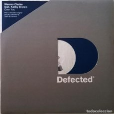 Discos de vinilo: WARREN CLARKE FEAT. KATHY BROWN – OVER YOU (PART 1), DEFECTED – DFECT28. Lote 117117755