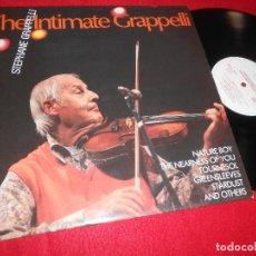 Discos de vinilo: STEPHANE GRAPPELLI THE INTIMATE GRAPPELLI LP JAZZ LIFE EDICION ALEMANA GERMANY ALEMANIA. Lote 117129455