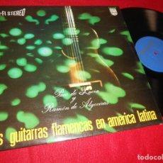 Discos de vinilo: PACO DE LUCIA&RAMON DE ALGECIRAS DOS GUITARRAS ... LP 1967 PHILIPS ESPAÑA SPAIN GUITARRA GUITAR. Lote 117131623