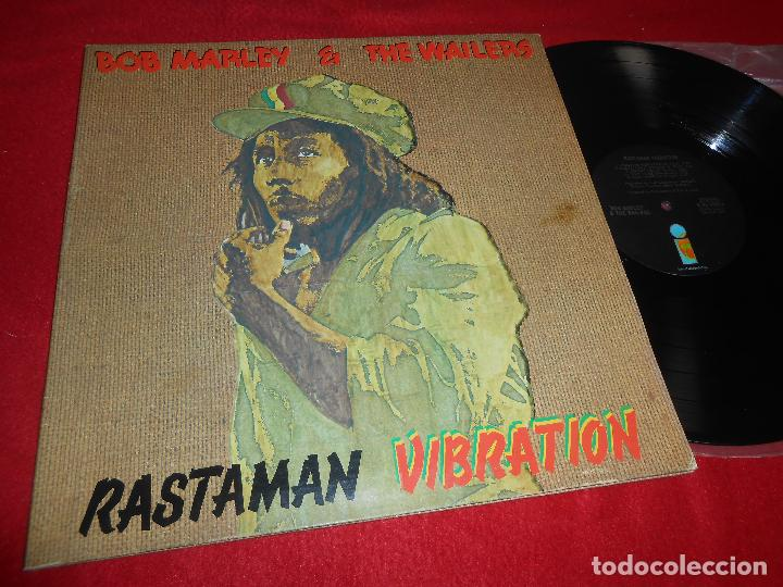 BOB MARLEY&THE WAILERS RASTAMAN VIBRATION LP 1976 ISLAND GATEFOLD EDICION AMERICANA USA (Música - Discos - LP Vinilo - Reggae - Ska)