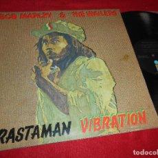 Discos de vinilo: BOB MARLEY&THE WAILERS RASTAMAN VIBRATION LP 1976 ISLAND GATEFOLD EDICION AMERICANA USA. Lote 117137123