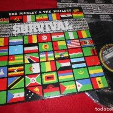 Discos de vinilo: BOB MARLEY&THE WAILERS SURVIVAL LP 1979 ISLAND EDICION PORTUGUESA PORTUGAL. Lote 117137279