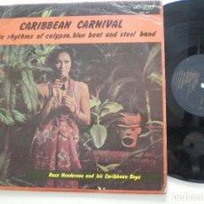 Disques de vinyle: RUSS HENDERSON & HIS CARIBBEAN BOYS - ...CARNIVAL - LP UK ALLEGRO 1966. Lote 117138091