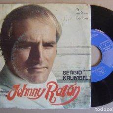 Discos de vinilo: SERGIO KRUMBEL - BANDA ORIGINAL DE LA PELICULA JOHNNY RATON - SINGLE PENELOPE 1969. Lote 117147639