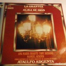 Vinyl-Schallplatten - ZARZUELAS-LA GRAN VIA ALMA DE DIOS-GRABACIONES ORIGINALES-ATAULFO ARGENTA-ORIGINAL ESPAÑOL 1959 - 117148743