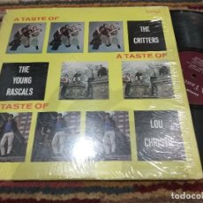 Discos de vinilo: LP ORIG USA 1965 SINGLES INÉDITAS! THE YOUNG RASCALS THE CRITTERS LOU CHRISTIE VG++/VG+. Lote 117149675