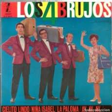Discos de vinilo: EP LOS 4 BRUJOS : AY, AY, AY + 3. Lote 117150175