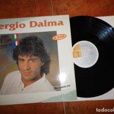 Discos de vinilo: SERGIO DALMA BALLARE STRETTI / DANSER CONTRE TOI ITALIANO FRANCES MAXI SINGLE VINILO EUROVISION 1991. Lote 117151936