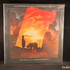 Disques de vinyle: THE LAST EMPEROR - BSO - LP. Lote 117152935
