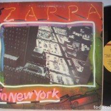 Discos de vinilo: FRANK ZAPPA / LIVE IN NEW YORK 78 !! DOBLE LP, 1ª EDIC USA, GRUESA DOBLE CARPETA, EXC. Lote 117161540
