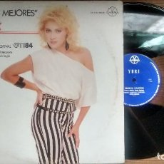 Discos de vinilo: YURI MAXI SENCILLO MEXICANO TIEMPOS MEJORES. Lote 117165279