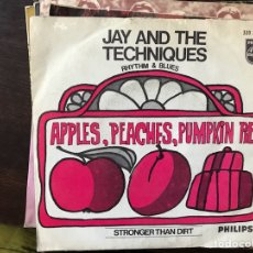 Discos de vinilo: JAY AND THE TECHNIQUES. APPLES, PEACHES, PUMPKIN, PIE.. Lote 117173799