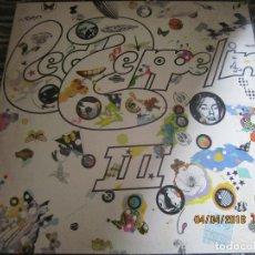 Discos de vinilo: LED ZEPPELIN III LP - ORIGINAL U.S.A. - ATLANTIC 1970 BROADWAY LABEL ROTATING-WHELL GATEFOLD COVER . Lote 117196447