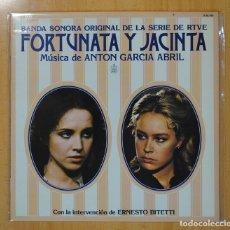 Discos de vinilo: ANTON GARCIA ABRIL - FORTUNATA Y JACINTA B.S.O. - LP. Lote 117203556