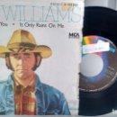 Discos de vinilo: SINGLE (VINILO) DE DON WILLIAMS AÑOS 80. Lote 117206219