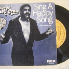 Discos de vinilo: GEORGE MCCRAE - SING A HAPPY SONG + I NEED SOMEBODY LIKE YOU - SINGLE ESPAÑOL 1975 - RCA. Lote 117213915