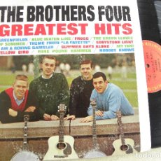 Discos de vinilo: THE BROTHERS FOUR -GREATEST HITS -LP USA -COLUMBIA. Lote 117232119