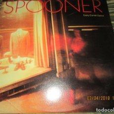 Discos de vinilo: SPOONER - EVERY CORNER DANCE LP - ORIGINAL U.S.A. - MOUNTAIN RAILROAD 1982 CON FUNDA INT. ORIGINAL. Lote 117238811