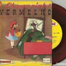Discos de vinilo: O CHAPEUZINHO VERMELHO DISCO CUENTO SINGLE BRASIL. Lote 117242835