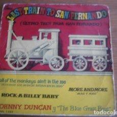 Discos de vinilo: JOHNNY DUNCAN - ROCK-A-BILLY BABY + 3 ******** RARO EP ESPAÑOL 1958!. Lote 117248835