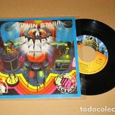 Discos de vinilo: EDWIN STARR - HAPPY RADIO - SINGLE - 1979. Lote 117249867