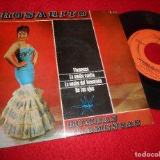 Discos de vinilo: ROSARITO FLAMENCO / LA NOCHE DEL HAWAIANO ..+2 EP 1965 MARFER LOS BRINCOS RUMBAS RUMBA. Lote 117280371