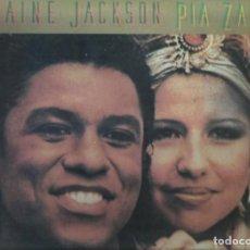 Discos de vinilo: JERMAINE JACKSON Y PIA ZADORA. MAXI-SINGLE. SELLO ARISTA. EDITADO EN MEXICO.. Lote 117281735
