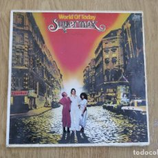Discos de vinilo: SUPERMAX LP WORLD OF TODAY CHILLY SPACE BONEY M SMOKIE HOT CHOCOLATE SILVER CONVENTION DEMIS ROUSSOS. Lote 117286671