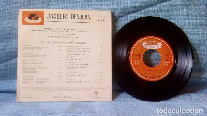 Discos de vinilo: JACQUES DENJEAN - THE TWIST / LET'S TWIST AGAIN / DUM DUM / YOU CAN HAVE HER - AÑO 1962 - Foto 2 - 117290287