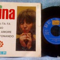 Discos de vinilo: MINA -TA-RA-TA-TA + 3, EP ORIGINAL ESPAÑOL 1966, BELTER 51.719 - BUEN ESTADO - VER FOTOS. Lote 117292375