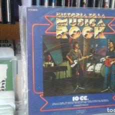 Discos de vinilo: HISTORIA DE LA MUSICA ROCK,99,10 CC. Lote 117302267