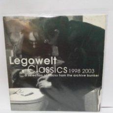 Discos de vinil: 2 LP ** LEGOWELT ** CLASSICS 1998-2003 ** COVER/ EXCELLENT ** 2LP/ EXCELLENT ** 2003. Lote 117304187
