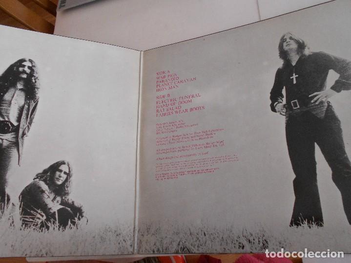 Discos de vinilo: BLACK SABBATH-LP PARANOID-PORT.ABIERTA-ESPAÑOL 1980 - Foto 2 - 117306059