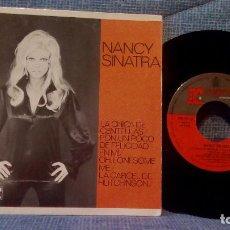 Discos de vinilo: NANCY SINATRA - LA CHICA DE CENTELLAS +3 AÑO 1967 - EP EDICIÓN ESPAÑOLA EN EXCELENTE ESTADO. Lote 117313547