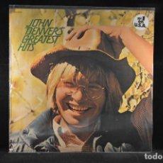 Discos de vinilo: JOHN DENVER´S - GREATEST HITS - LP. Lote 117317991