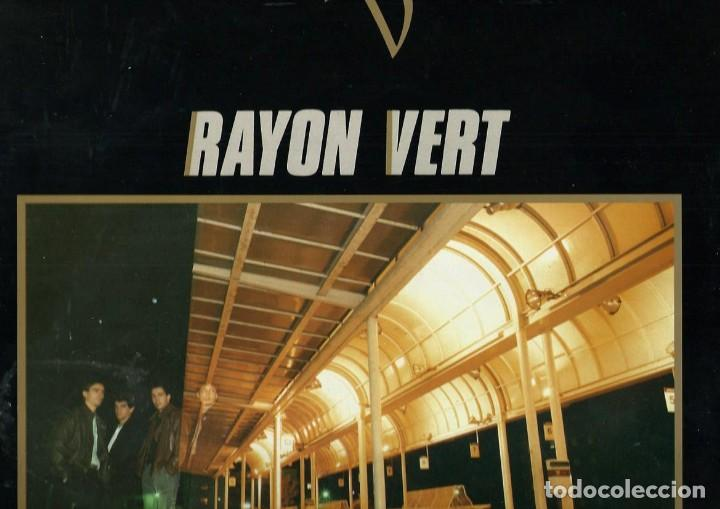 RAYON VERT - NOCHES TRANSPARENTES - IPS & CO 1987 - GRUP MANRESA DELS ANYS 80 (Música - Discos de Vinilo - EPs - Grupos Españoles de los 70 y 80)