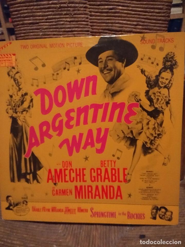 Discos de vinilo: 6 MARAVILLOSOS LP HOLLYWOOD CLASICO ( FRED ASTAIRE, CARMEN MIRANDA, JUDY GARLAND, ELEANOR POWELL ETC - Foto 2 - 117320923