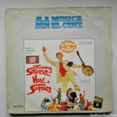 Discos de vinilo: TOMMY STEELE LA MITAD DE SEIS PENIQUES 1967 BSO. Lote 117323746