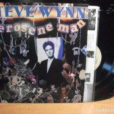 Discos de vinilo: STEVE WYNN KEROSENE MAN LP UK 1990 PEPETO TOP. Lote 117323987